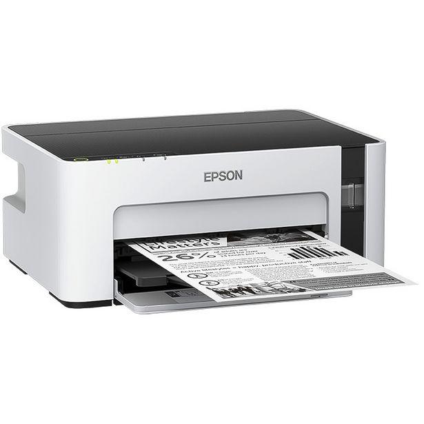 Oferta de Impressora Epson Ecotank M1120 Preto WiFi - Branco por R$1408