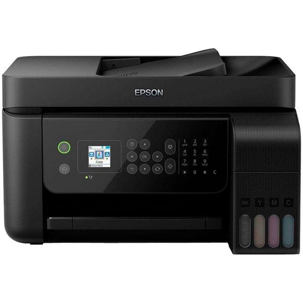 Oferta de Impressora Multifuncional Epson EcoTank L5190 Colorido WiFi - Preto por R$2260