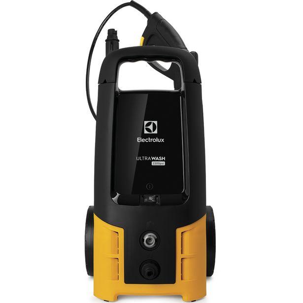 Oferta de Lavadora Alta Pressão Electrolux UltraWash 2200PSI 1800W - Preto/Amarelo por R$716