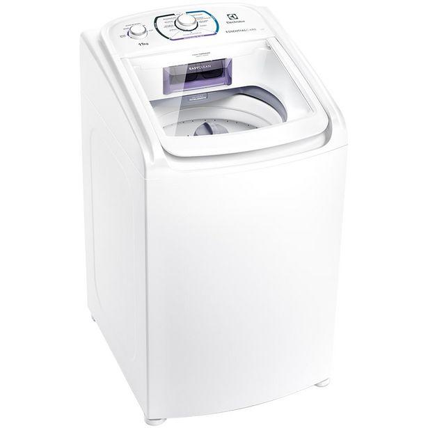 Oferta de Máquina de Lavar Electrolux Essencial Care 11kg Automática LES11 - Branco por R$1906