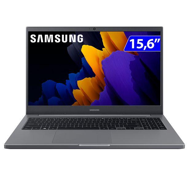 "Oferta de Notebook Samsung E30 i3 W10 4GB 1TB HDD 15.6"" NP550XCJ-KT1BR - Cinza por R$4534"