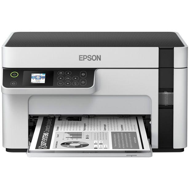 Oferta de Impressora Multifuncional Epson EcoTank M2120 Preto WiFi - Branco por R$1713