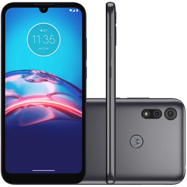 "Oferta de Smartphone Motorola Moto E6s 6.1"" Octa Core 32GB 2GB Câmera Dupla - Cinza por R$1098"