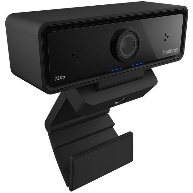 Oferta de Webcam Intelbras CAM-720P HD 720p USB com Microfones Integrados - Preto por R$306