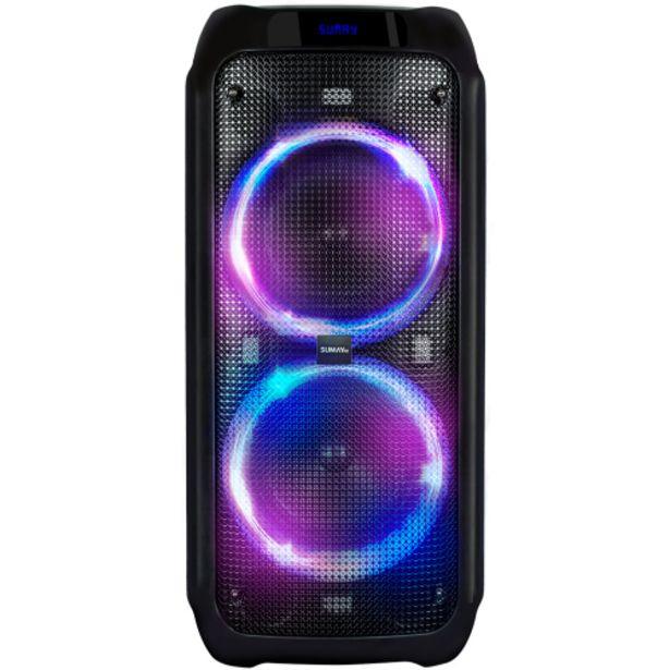 Oferta de Caixa de Som Amplificada Sumay Live Box 600W Bluetooth USB - Sem Cor por R$1345