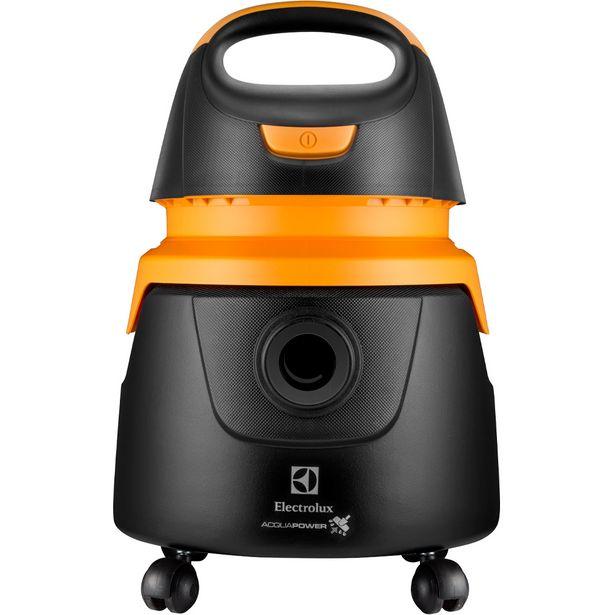 Oferta de Aspirador Electrolux AQP20 Água e Pó 1250W - Preto/Amarelo por R$283