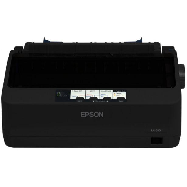 Oferta de Impressora Matricial Epson LX350 Preto USB - Preto por R$1949