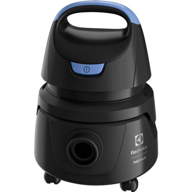 Oferta de Aspirador Electrolux Hidrolux AWD01 Água e Pó 1250W - Preto por R$258