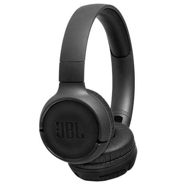 Oferta de Headset JBL T500BT sem Fio Bluetooth Design Dobrável - Preto por R$243,9