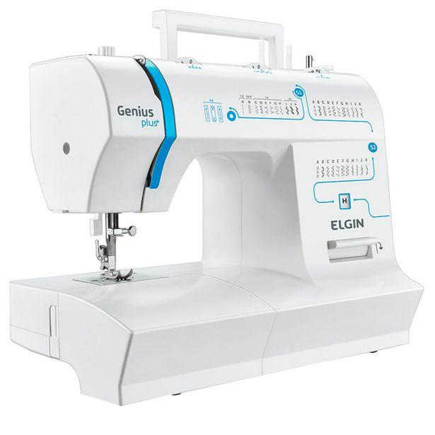 Oferta de Máquina de Costura Elgin Genius Plus 31 Pontos - Sem Cor por R$1171