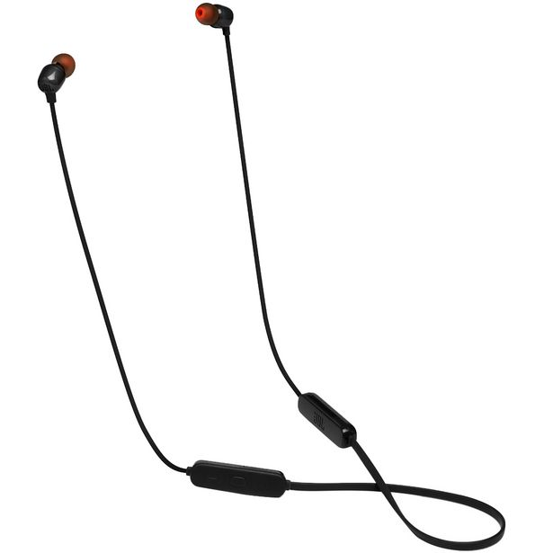 Oferta de Fone de Ouvido JBL 115BT sem Fio Bluetooth Ponteiras Magnéticas - Preto por R$173