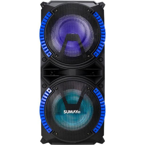 Oferta de Caixa de Som Amplificada Sumay Magnum 400W Bluetooth - Sem Cor por R$678