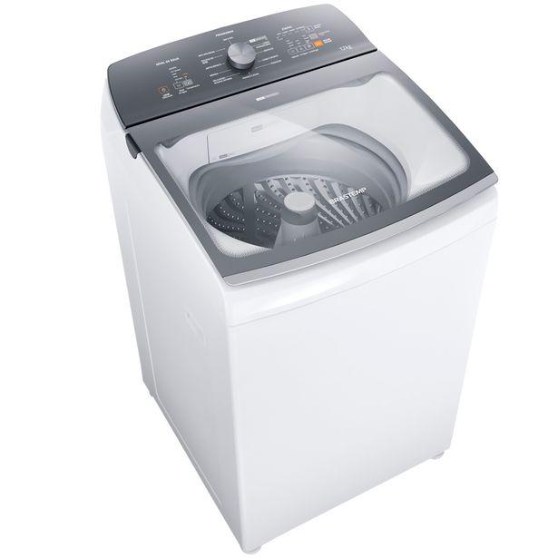 Oferta de Máquina de Lavar Brastemp BWK12AB 12kg Automática Tira Manchas Advanced - Branco por R$2583,2