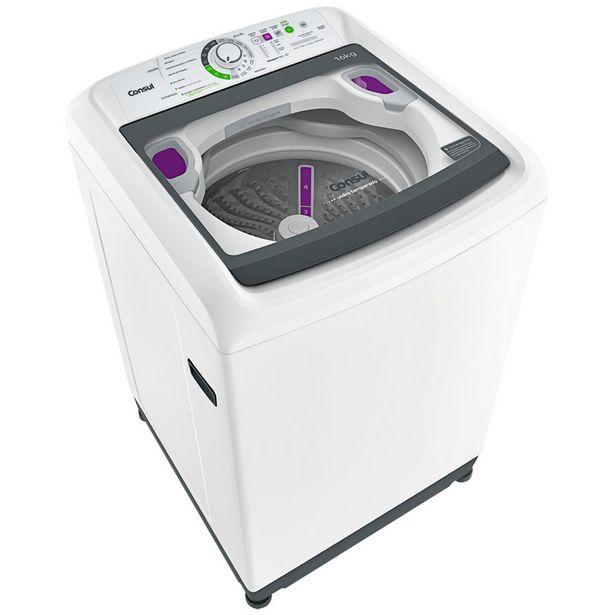 Oferta de Máquina de Lavar Consul 16kg Automática Dosagem Fácil CWL16AB - Branco por R$2473