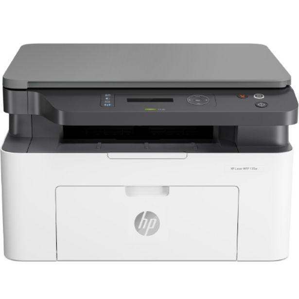 Oferta de Impressora Multifuncional a Laser HP Laserjet Preto e Branco USB - Branco/Preto por R$1619