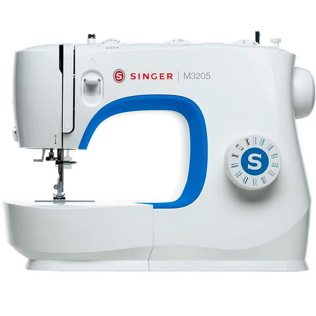 Oferta de Máquina de Costura Singer M3205 23 Pontos - Branco por R$1099