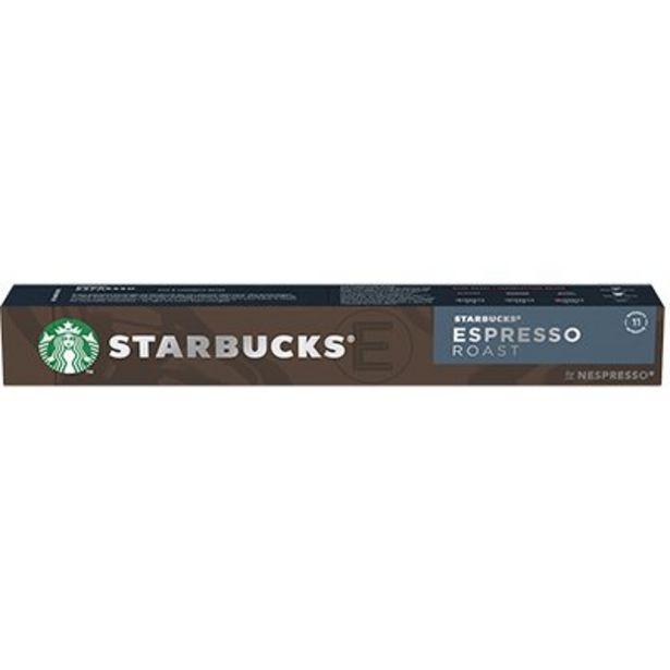 Oferta de Cápsula de café Starbucks p/Nespresso Roast Starbucks CX 10 UN por R$27,8