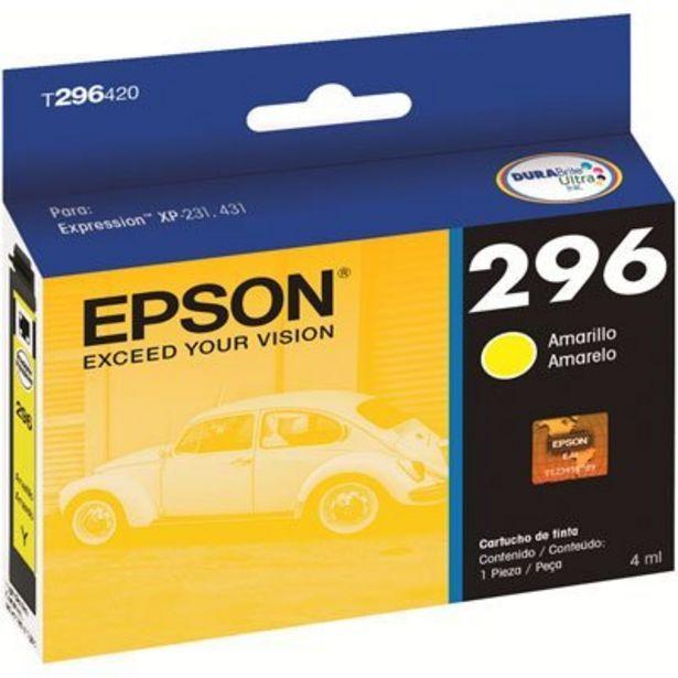 Oferta de Cartucho p/Expression amarelo T296420BR Epson CX 1 UN por R$44,9
