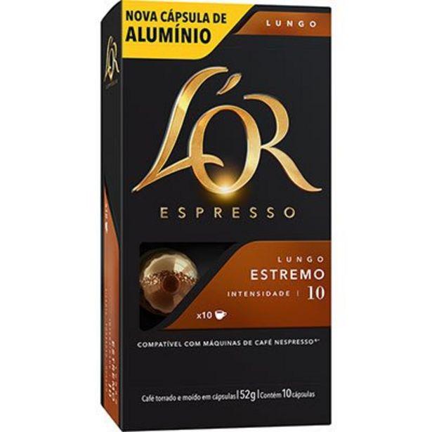 Oferta de Cápsula de café Lór para Nespresso Estremo 8833 Lór CX 10 UN por R$14,9