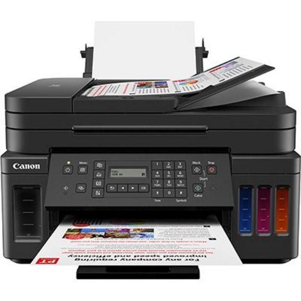 Oferta de Impressora Multifuncional tanque de tinta MegaTank G7010, Colorida, Wi-fi, Conexão Et... por R$1619,1