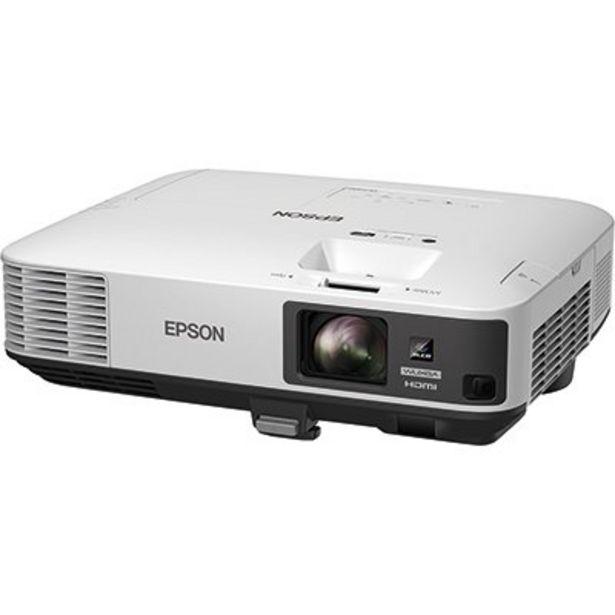 Oferta de Projetor multimídia Powerlite 2250U Epson CX 1 UN por R$12320,1