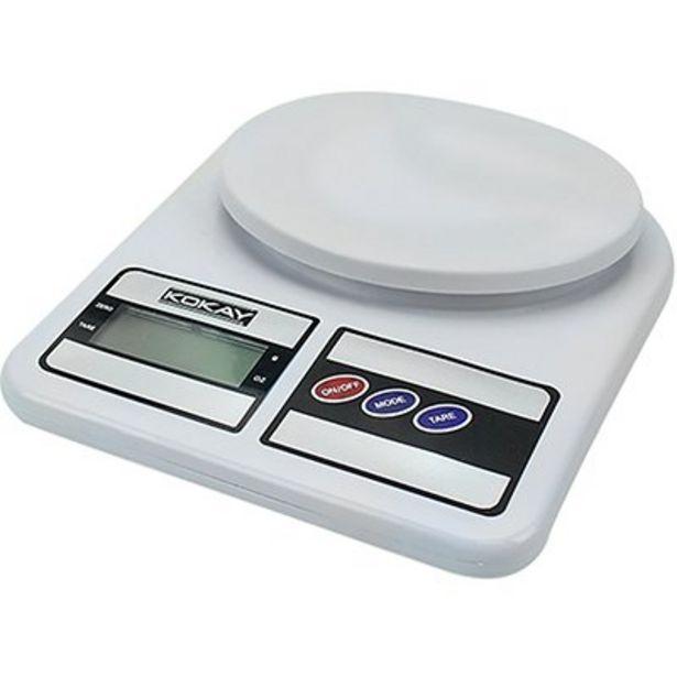 Oferta de Balança digital de precisão capacidade 10kg Kokay CX 1 UN por R$50,8