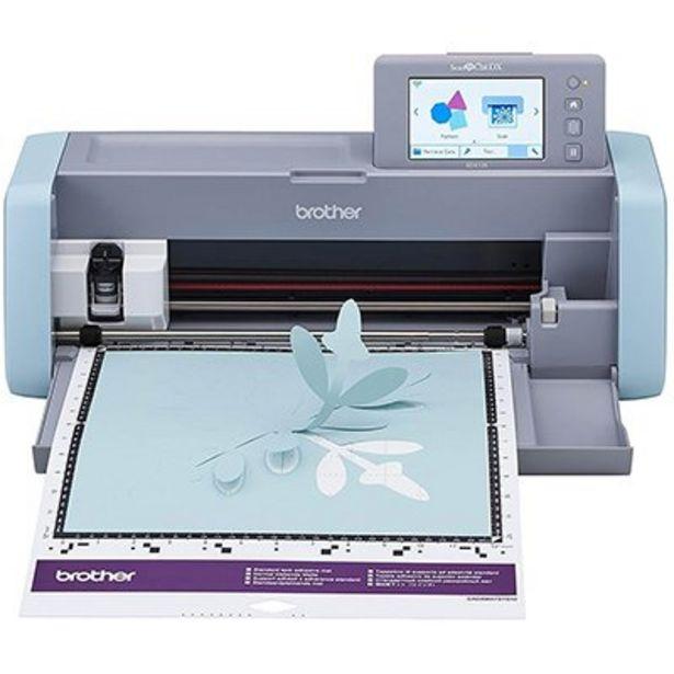 Oferta de Máquina para recorte c/Scanner ScanNCut 110v SDX125 Brother CX 1 UN por R$2249,1