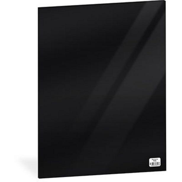 Oferta de Folha em EVA 600x400x2mm preto 01 Spiral UN 1 UN por R$5,2