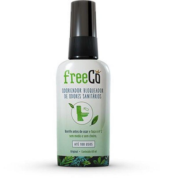 Oferta de FreeCô Original - Essência Capim-limão - Odorizador Bloqueador de Odores Sanitários 6... por R$14,99