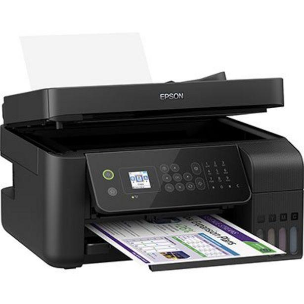 Oferta de Impressora Multifuncional tanque de tinta Ecotank L5190, Colorida, Wi-fi, Conexão Eth... por R$1844,1