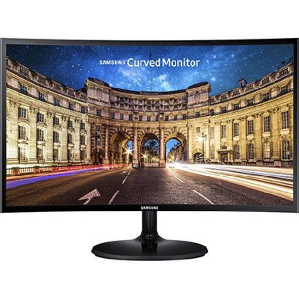 Oferta de Monitor LED 24 widescreen Curvo C24F390F Samsung CX 1 UN por R$1289,13