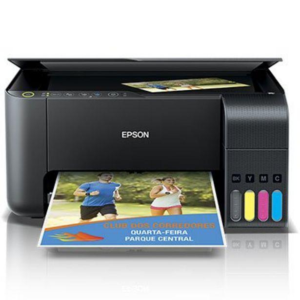Oferta de Impressora Multifuncional Tanque de Tinta EcoTank L3150, Colorida, Wi-fi, Conexão USB... por R$1259,1
