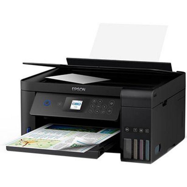 Oferta de Impressora Multifuncional tanque de tinta Ecotank L4160, Colorida, Impressão Duplex, ... por R$1664,1