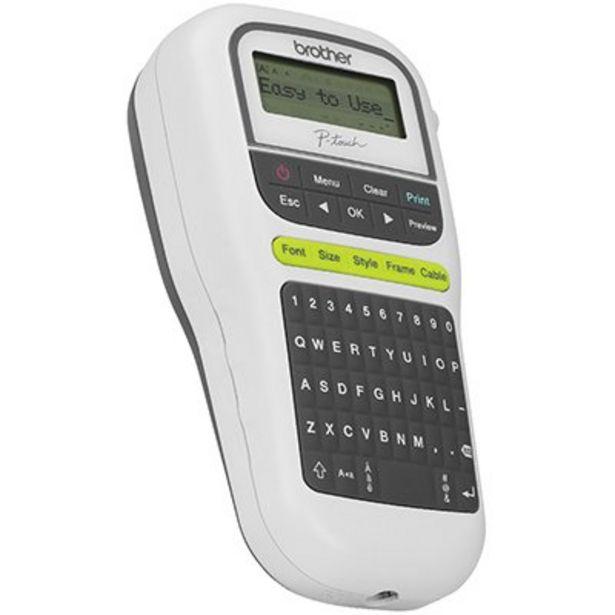 Oferta de Rotulador eletrônico portátil PTH110 Brother BT 1 UN por R$279