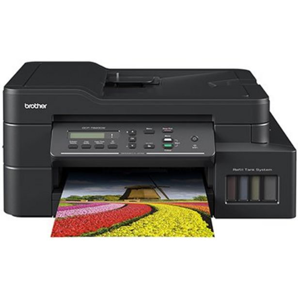 Oferta de Impressora Multifuncional Tanque de Tinta DCPT820DW, Colorida, Impressão Duplex, Wi-F... por R$2447,1