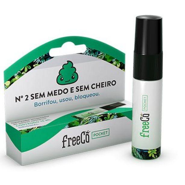 Oferta de Bloqueador de odor sanitário Freecô 15ml original FreeCô PT 1 UN por R$7,99