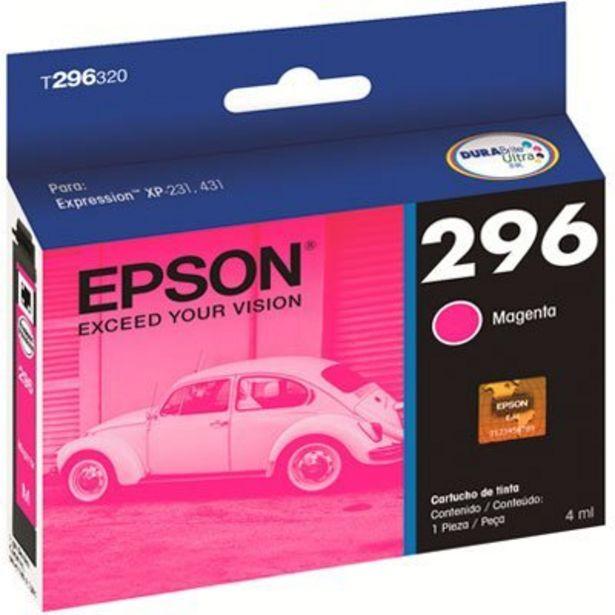 Oferta de Cartucho p/Expression magenta T296320BR Epson CX 1 UN por R$44,9