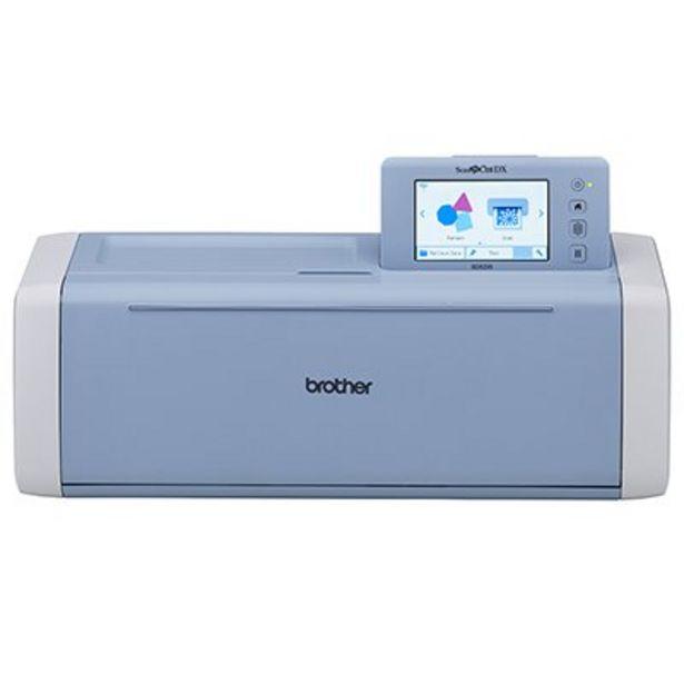 Oferta de Máquina para Recorte c/Scanner ScanNCut 220v SDX225V Brother CX 1 UN por R$2879,1