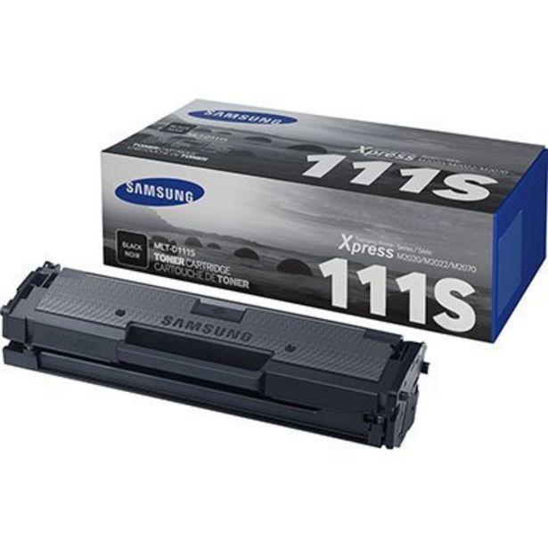 Oferta de Cartucho toner p/Samsung preto MLT-D111S 4HY91A Samsung CX 1 UN por R$322,5