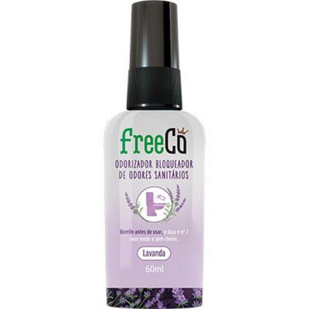 Oferta de Bloqueador de odor sanitário Freecô 60ml lavanda FreeCô PT 1 UN por R$14,99