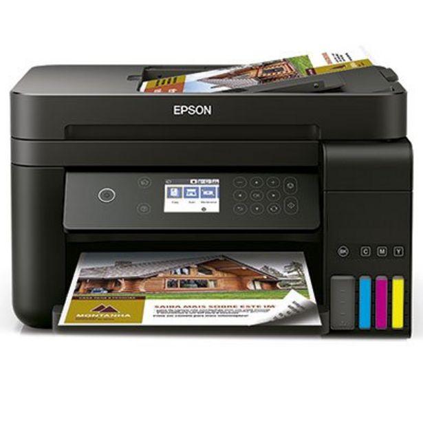 Oferta de Impressora Multifuncional tanque de tinta Ecotank L6171, Colorida, Wi-fi, Conexão Eth... por R$2204,1