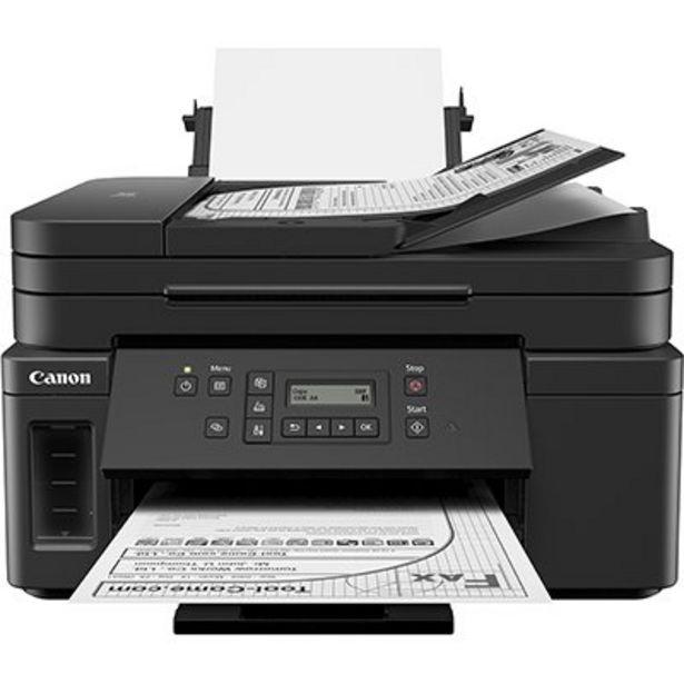 Oferta de Impressora Multifuncional tanque de tinta MegaTank GM4010, Monocromática, Wi-fi, Cone... por R$1259,1