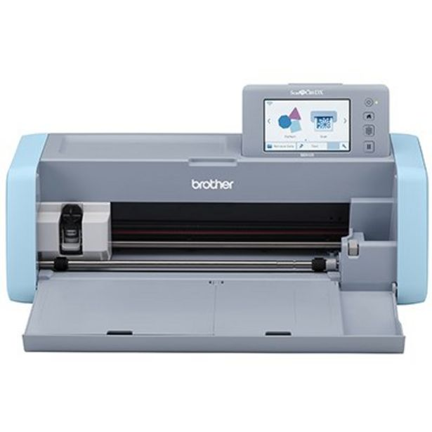 Oferta de Máquina para recorte c/Scanner ScanNCut 220v SDX125V Brother CX 1 UN por R$2249,1