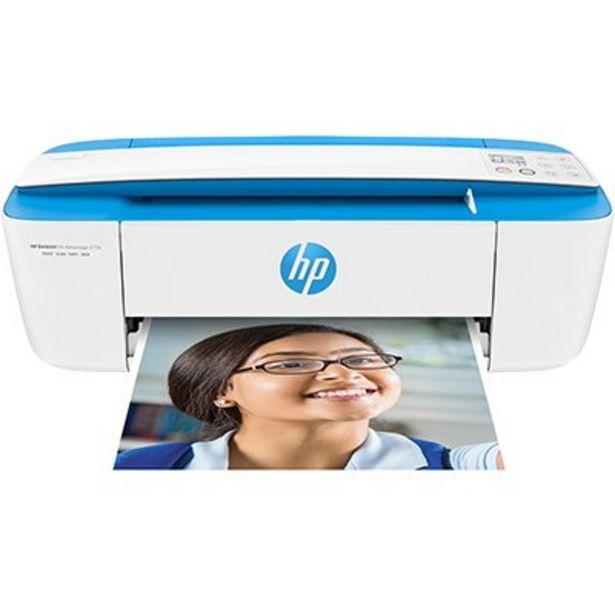 Oferta de Impressora Multifuncional Deskjet Ink Advantage 3776 azul J9V88A, Colorida, Wi-fi, Co... por R$548,1