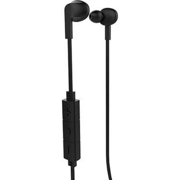 Oferta de Fone de ouvido Bluetooth intra preto Smarto Go PH256 Multilaser BT 1 UN por R$59,9