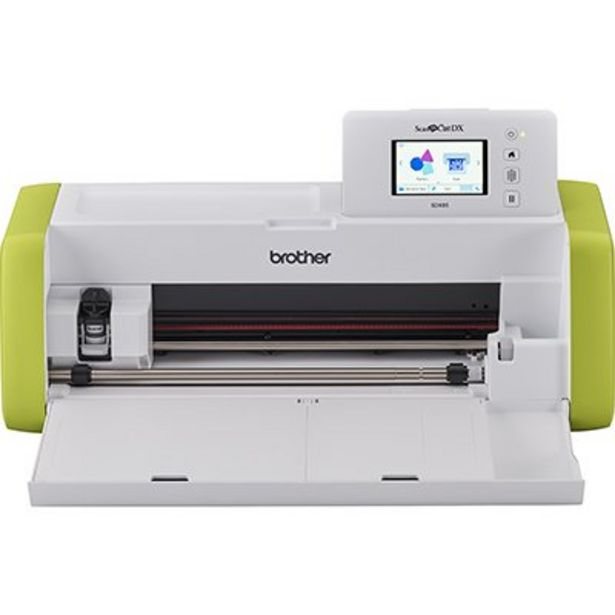 Oferta de Máquina para recorte c/Scanner ScanNCut SDX85 110v - Brother CX 1 UN por R$1979,1