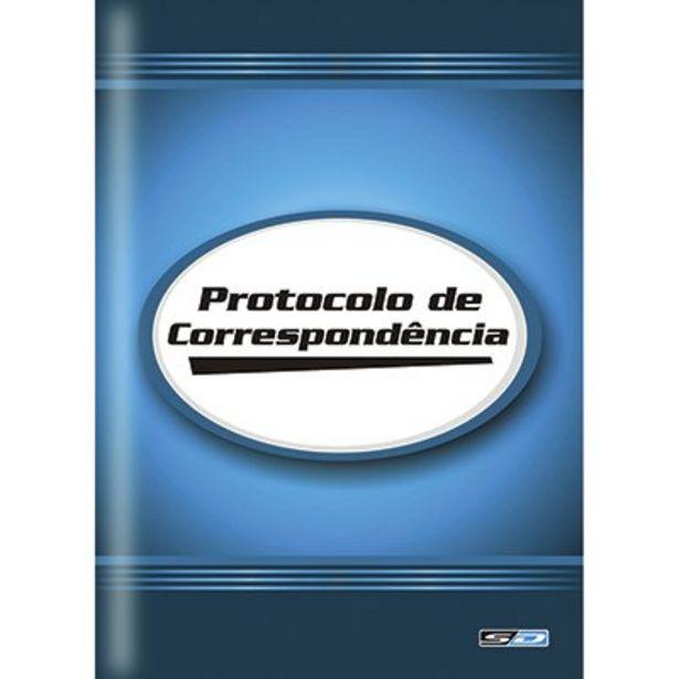 Oferta de Livro protocolo de correspondência 1/4 100 folhas 5887-5 São Domingos PT 1 UN por R$11,1