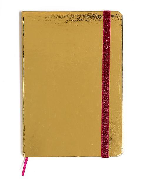 Oferta de Caderno Dourado por R$15,9