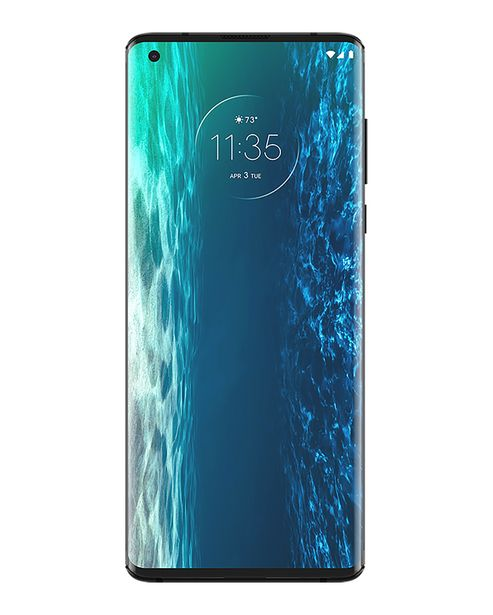 "Oferta de Smartphone Motorola Edge Dual Chip Android 10 Tela 6.7"" 128GB Câmera 64MP +16MP + 8MP - Solar Black por R$3999"
