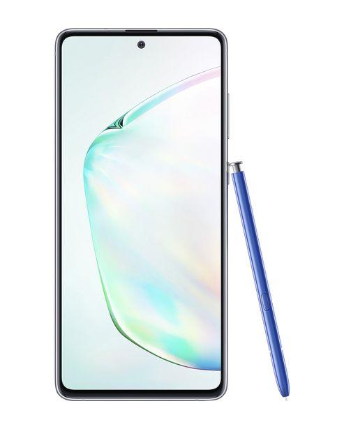 """Oferta de Smartphone Samsung Galaxy Note 10 Lite Dual Chip Android 9.0 Tela 6.7"""" 128GB Câmera Tripla 12MP+16MP + Caneta S-Pen - Aura Glow por R$2399"""